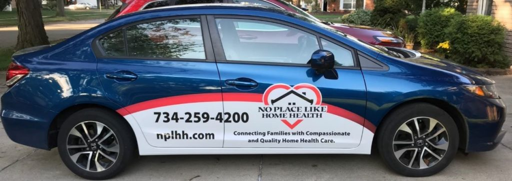 No Place Like Home Health Vehicle One