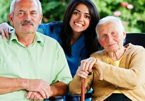 bigstock-Nurse-With-Elderly-People-49658177